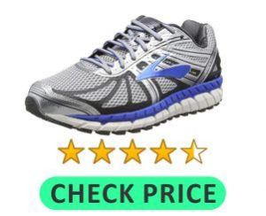 tennis shoe for high arch
