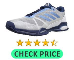 addidas tennis shoes for hard court