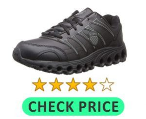 K Swiss tennis shoe for high arches