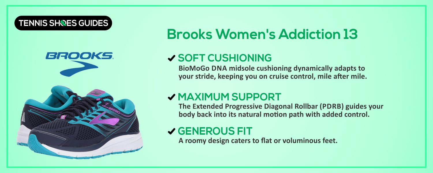 Brooks Women's Addiction 13 details