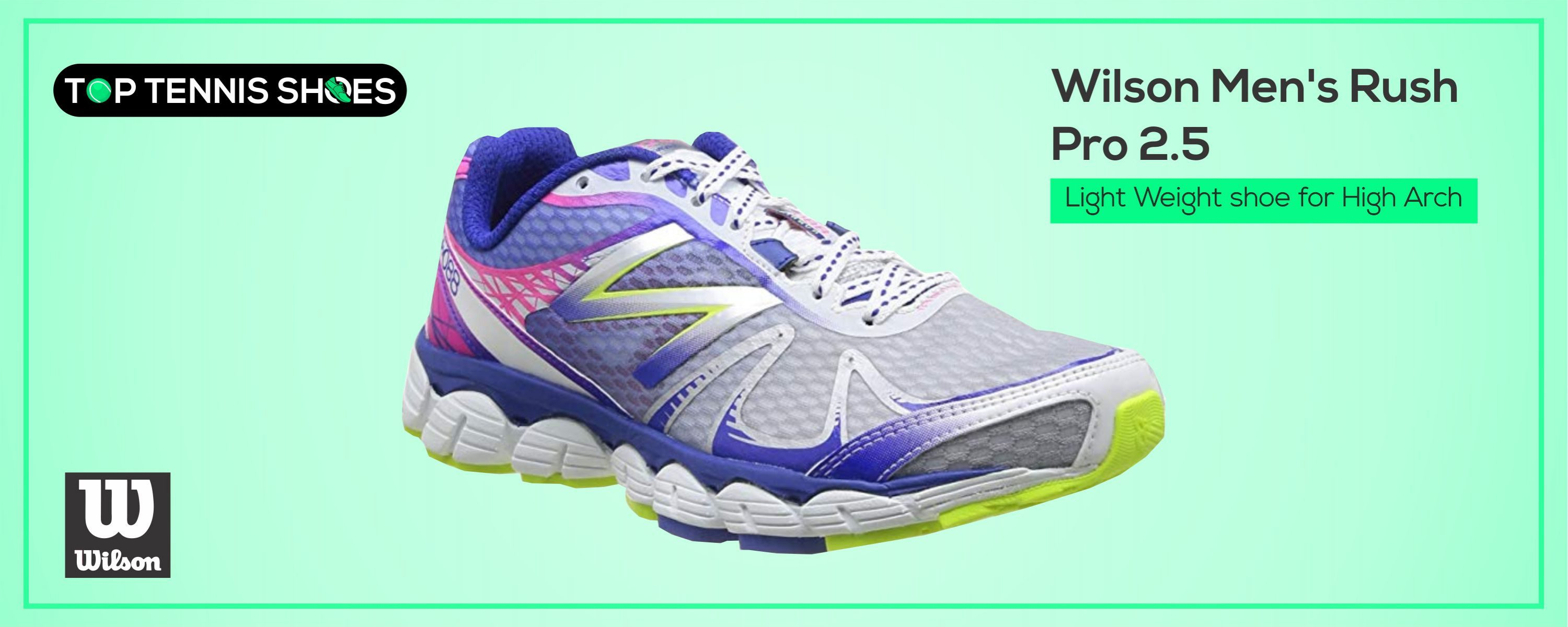 Top Rated Tennis Shoes for High Arches