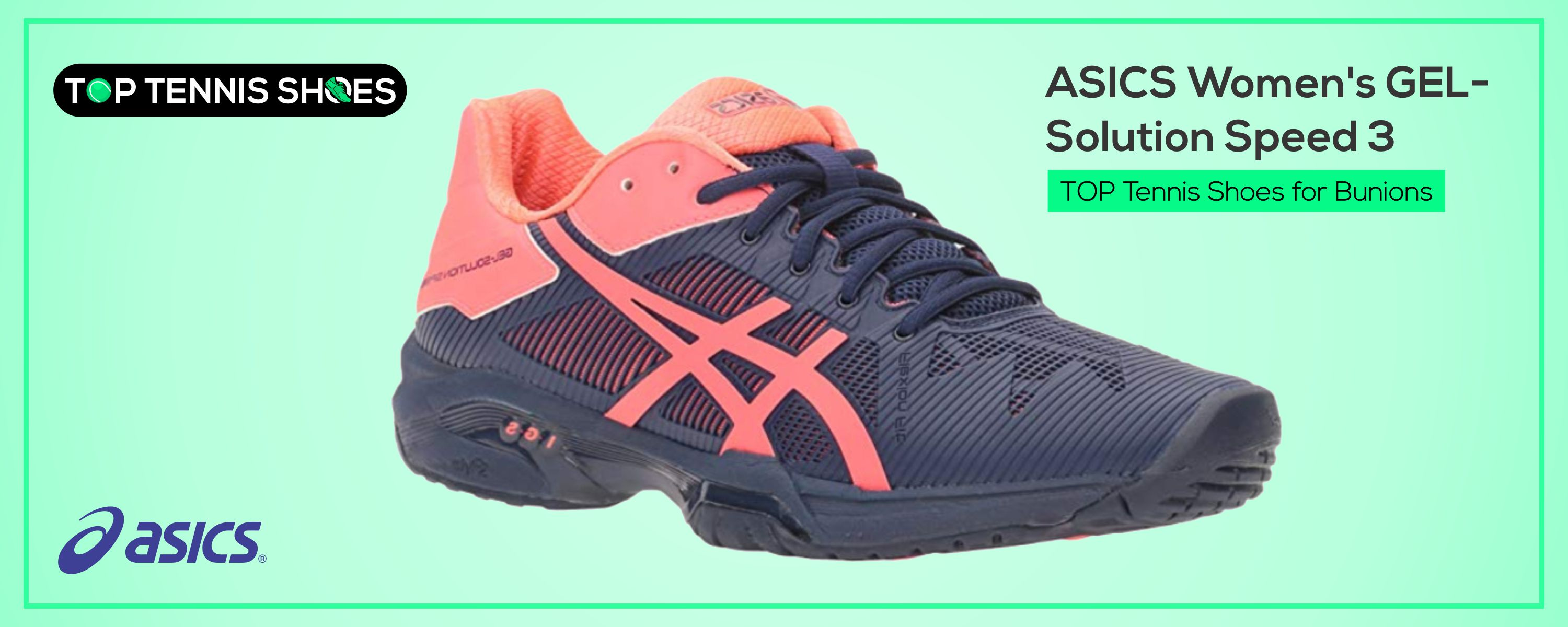 TOP Tennis Shoes for Bunions