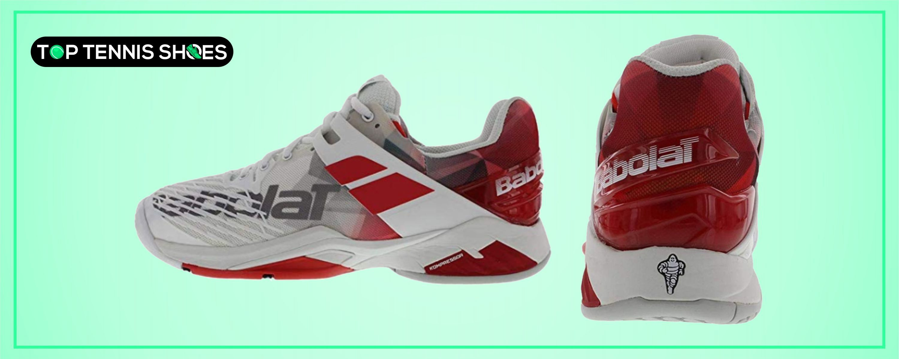 Babolat Tennis Shoes for Sliding
