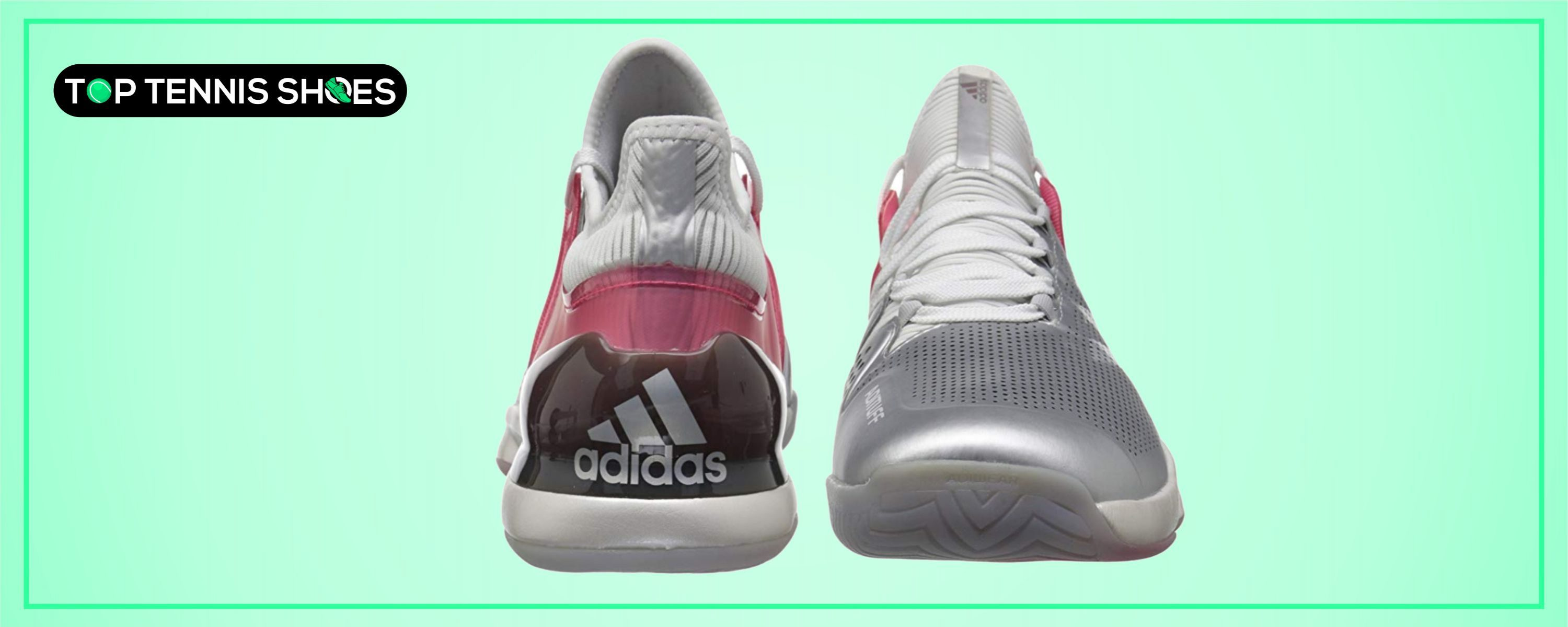Adidas Court Tennis Shoes for Sliding
