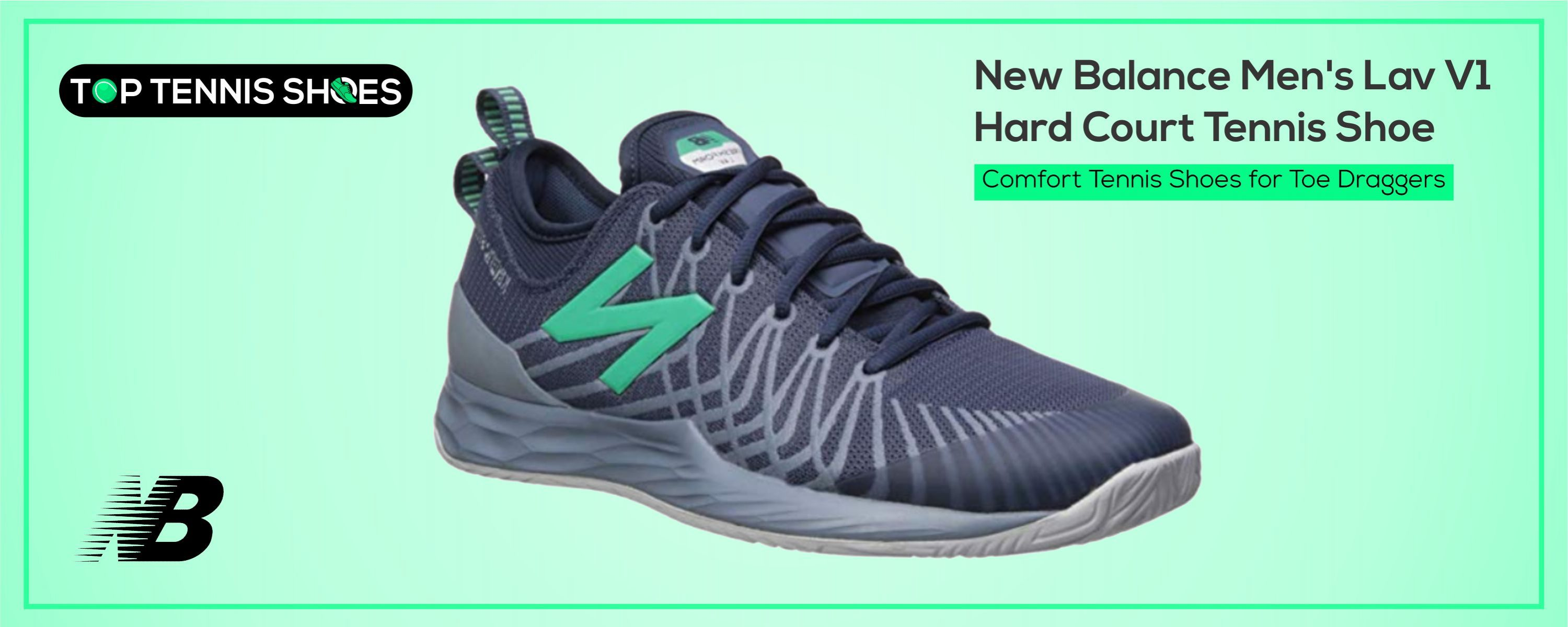 New Balance Tennis Shoes for Toe Draggers