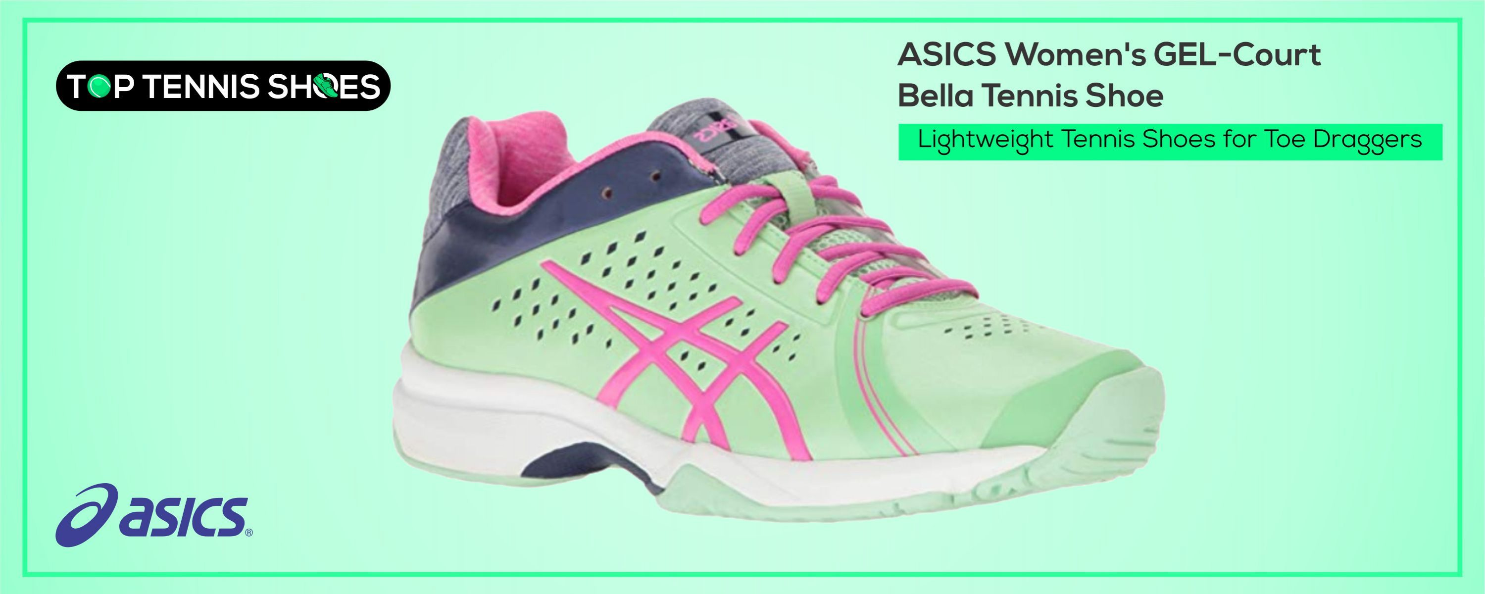 Lightweight Tennis Shoes for Toe Draggers