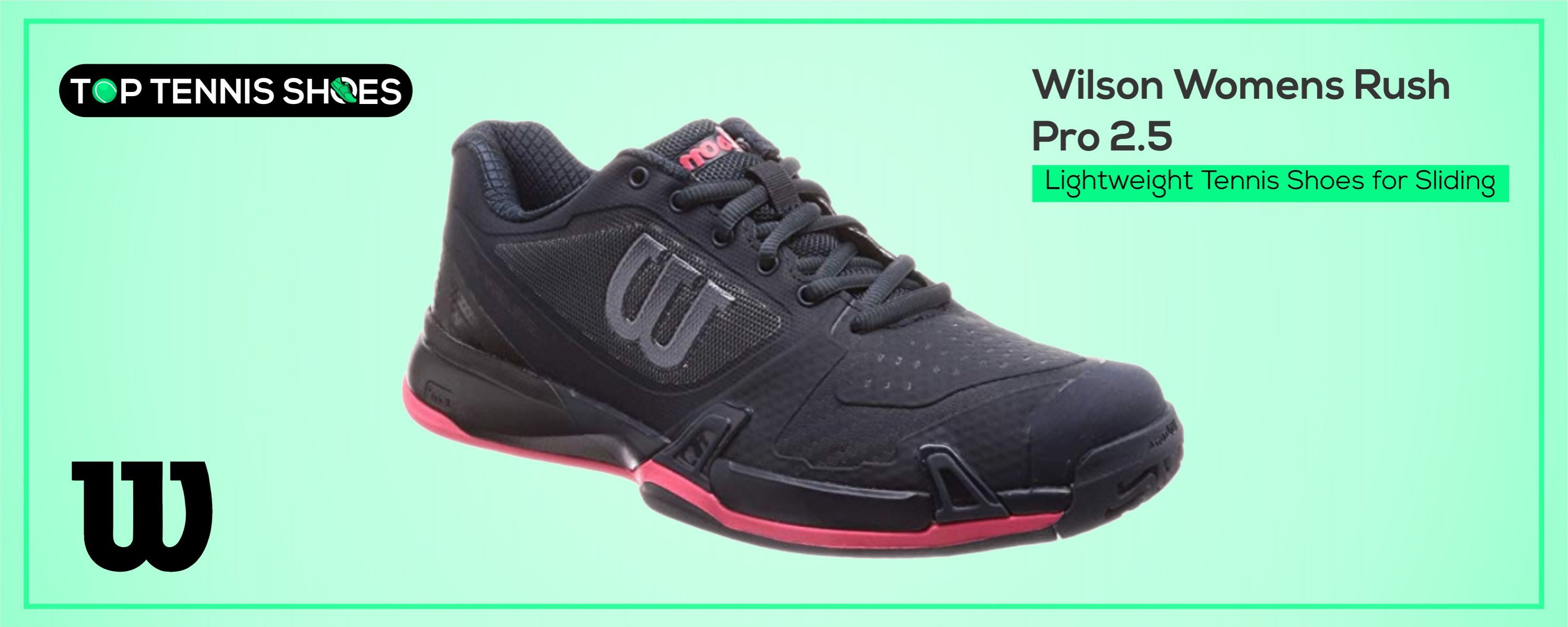 Wilson Tennis Shoes for Sliding