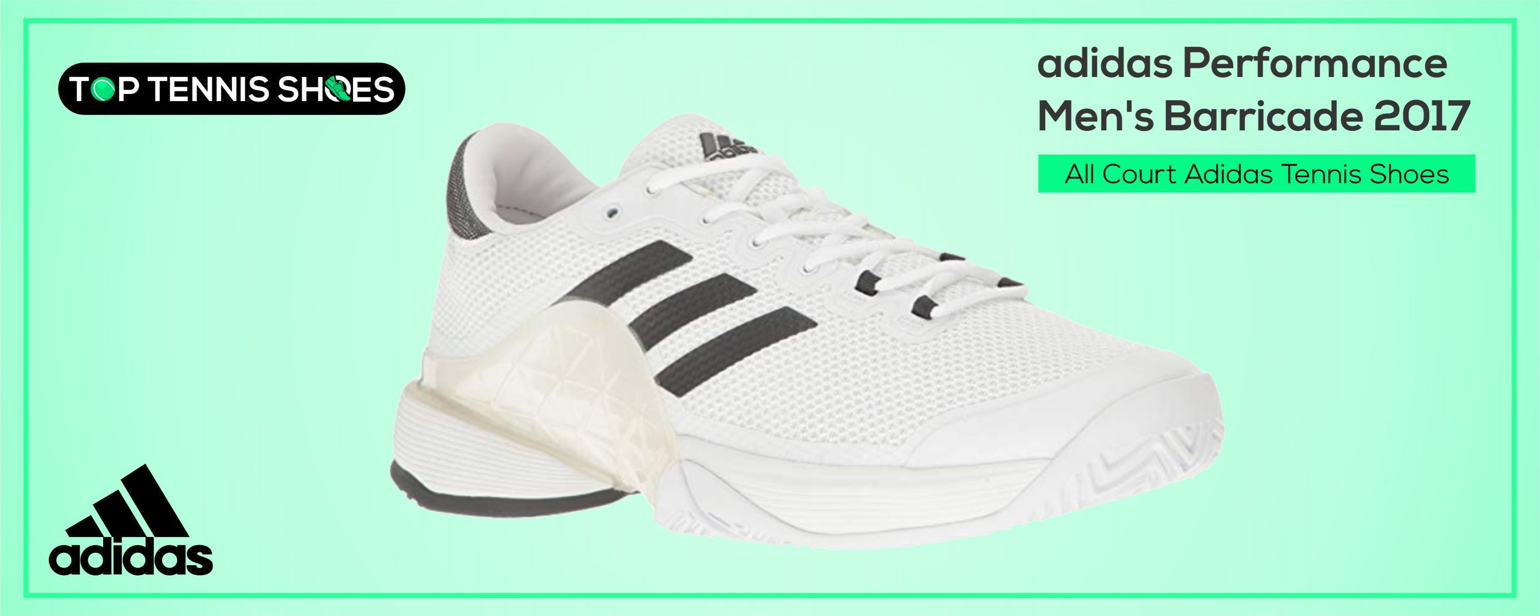 All Court Adidas Tennis Shoes