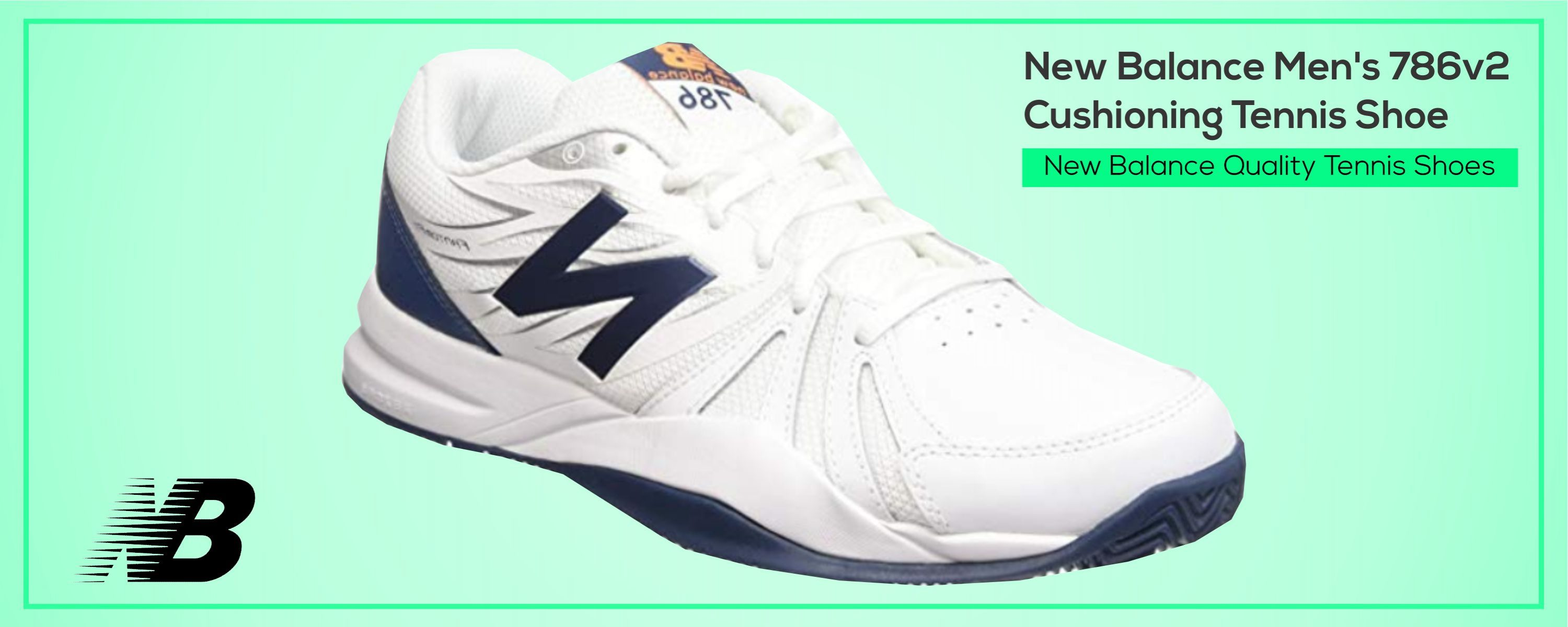 New Balance Quality Tennis Shoes