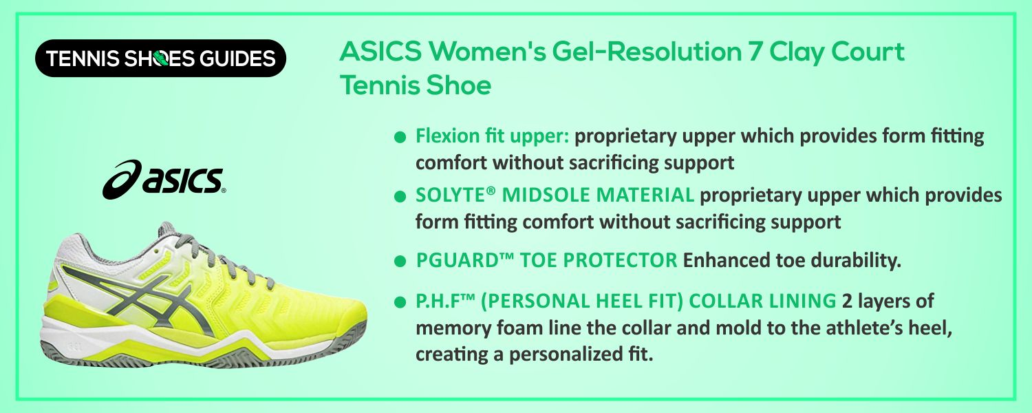 ASICS Women's Gel-Resolution 7 Clay Court information