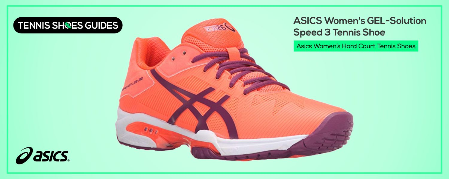 Asics Women's Hard Court Tennis Shoes