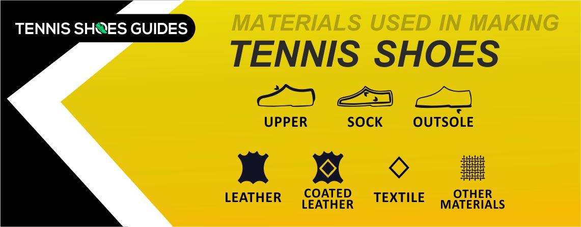 material used in tennis shoes